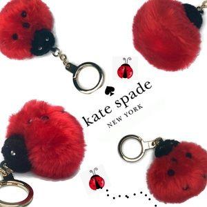 Kate Spade Lady Bug LadyBug 🐞 Keychain Fob Rare